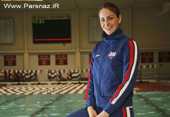 این خانم ایرانی شناگر تیم ملی آمریکا است (عکس) http://pixact.rozblog.com/