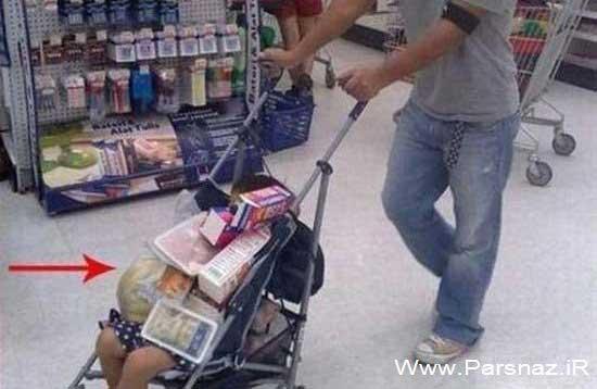 عکس های خنده دار از بی خیال ترین پدر و مادرها
