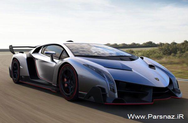 اتومبیل جدید لامبورگینی  وننو تنها 3 عدد در جهان