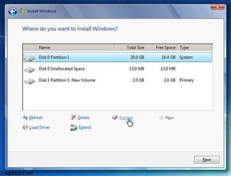 آموزش فرمت کردن یک درایو در ویندوز