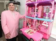 عکس های جالب از عشق عجیب این مرد به عروسک باربی