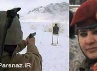 حضور کماندوهای زن در خطرناکترین عملیاتهای ارتش افغانستان