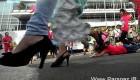 خنده دار ترین نوع ورزش سال خانم های اندونزیایی (عکس)