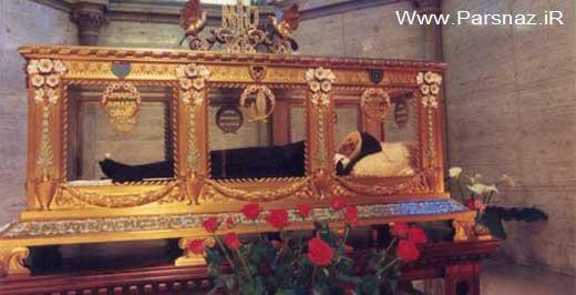 این دختر بعد از 130 سال جنازه اش سالم مانده است (عکس)