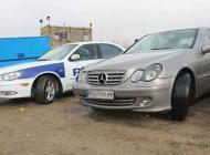 توقیف اتومبیل بنز با سرعت 230 كیلومتر (عکس)
