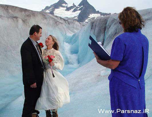 عکس های خنده دار از ازدواج هایی برای معروف شدن