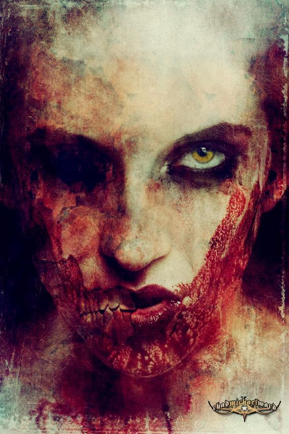 نمایش پست :تصاویری از نقاشی های ترسناک..(18-)