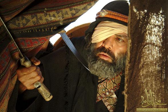 عکس های فریبرز عرب نیا در سریال مختار نامه..!
