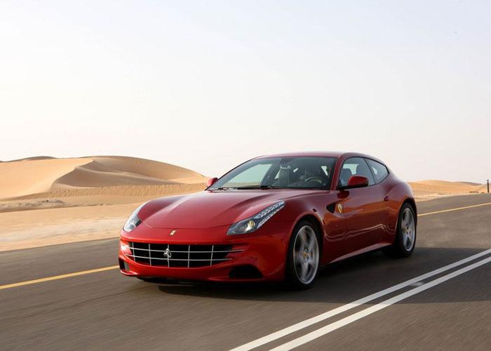 عکسهای منتشر شده از Ferrari FF 2012