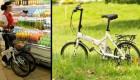 تبدیل دوچرخه به سبد خرید..(تصاویر)