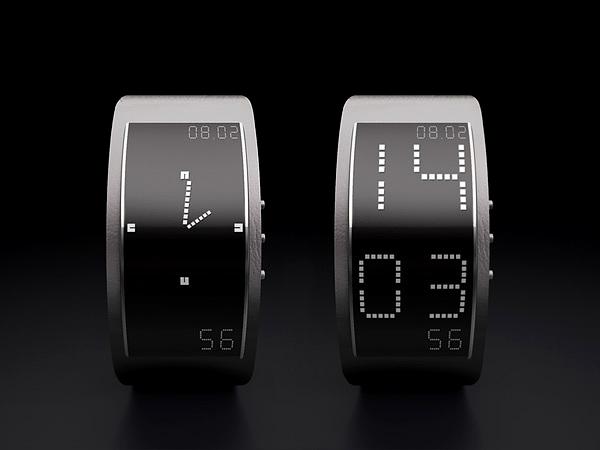 ساعت های مدرن و جدید..!