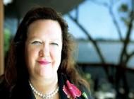 زنی استرالیایی ثروتمندترین فرد جهان (+عکس)