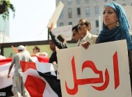 تصاویر زنان محجبه در انقلابهای عربی..!