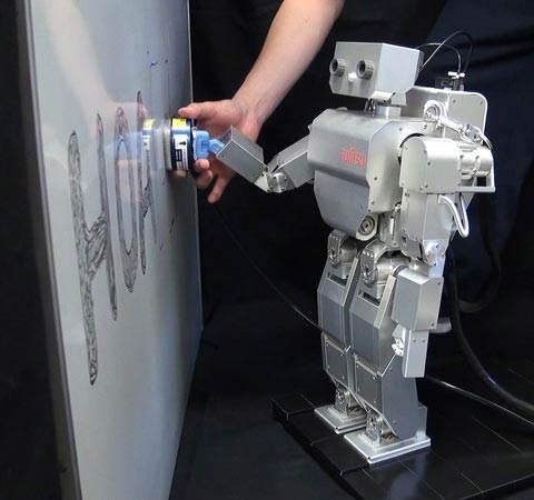 ربات تخته پاک کن..(عکس)