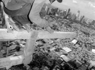 کارگرانی که آسمان خراش ها را می سازنند..( تصاویر)