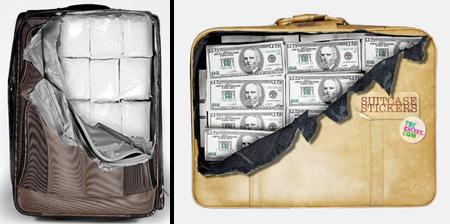 زیباترین و عجیب ترین چمدان های دنیا.