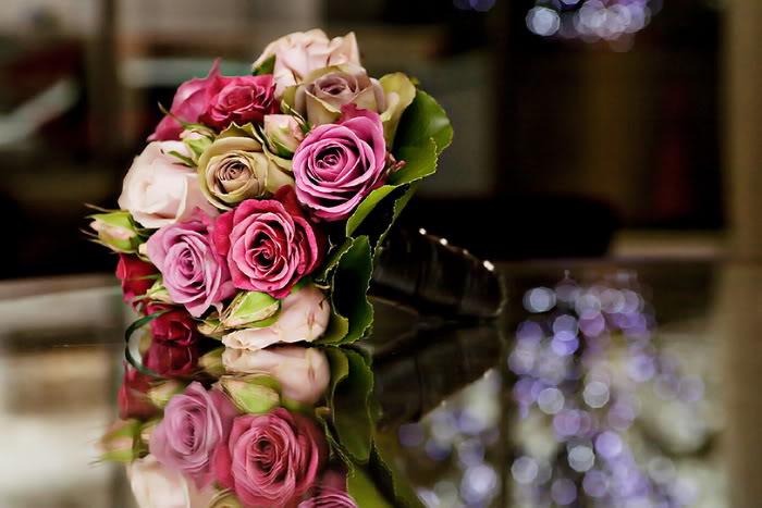 دسته گل های زیبای عروس..!