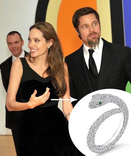 خط تولیدی جواهرات براد پیت و آنجلینا جولی
