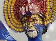 عکس هایی از جشنواره زیبای نقاشی روی بدن.!
