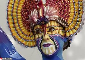 نمایش پست :عکس هایی از جشنواره زیبای نقاشی روی بدن.!