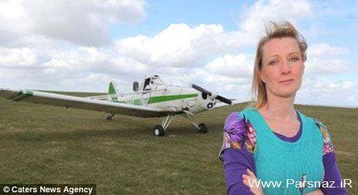 زن عجیبی که اگر سوار هواپیما نشود حالش بد خواهد شد