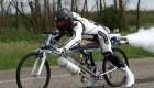 رکورد جالب و باورنکردنی دوچرخه موشکی (عکس)