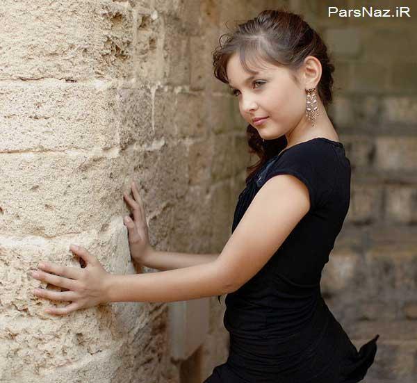 عکسهایی از می ساده عکس های دختری که دارای رکورد زیباترین دختر جهان است