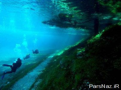 پارک شگفت انگیز آبی و خاکی در اتریش (عکس)