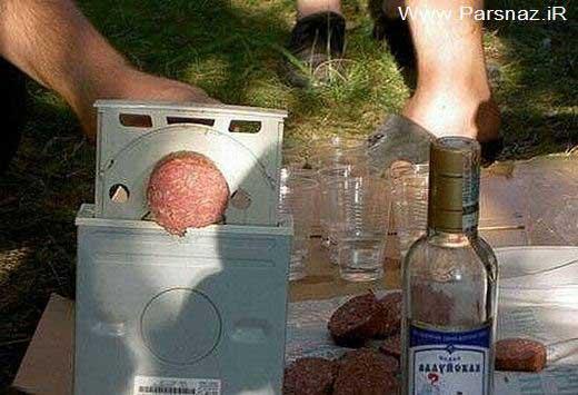 عکس های خنده دار از ابتکارات جالب انسان ها