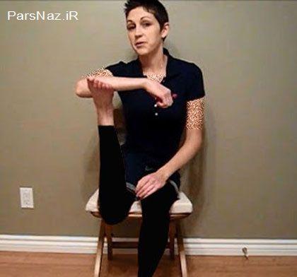 این دختر میتواند پایش را 180 درجه بچرخاند (عکس)