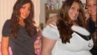 عکس های دیدنی از دختران خوش اندام که یکباره چاق شدن