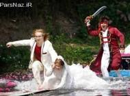 حمله به عروس و داماد با قمه! (عکس)