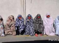 دستگیر شدن دختر خاله های جیب بر در تهران (عکس)