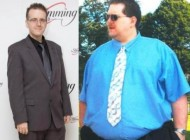 این آقا رکورد دار کاهش وزن در دنیا در سال 2013 (عکس)