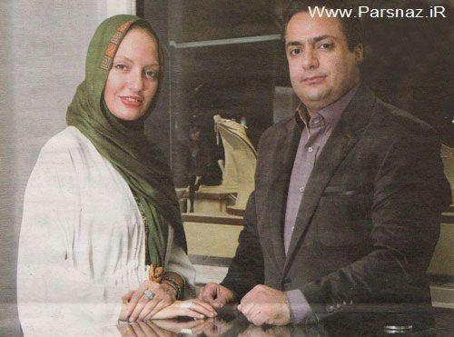 مهناز افشار و برادرش در شوی جواهرات (عکس)