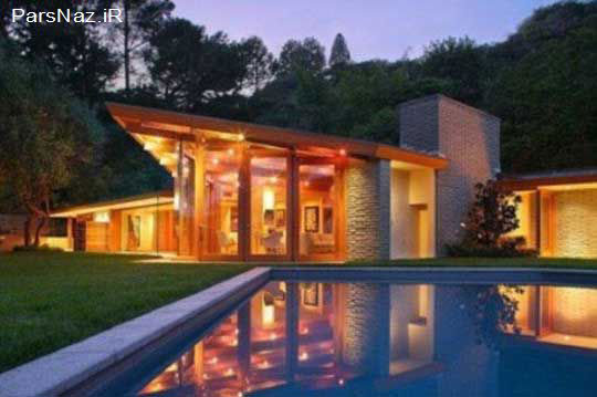 خانه جدید و زیبای کتی پری خواننده معروف هالیوود (عکس)