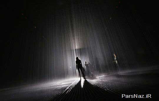 نوع بارانی عجیب که شما را خیس نمی کند (عکس)