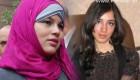 عریان شدن دختر جوان به تقلید از دختر مصری (+عکس)
