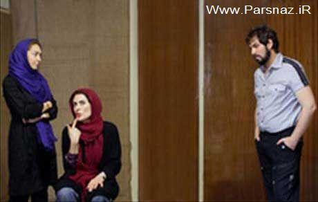 نخستین تجربه نیکی کریمی در صحنه تئاتر (عکس)