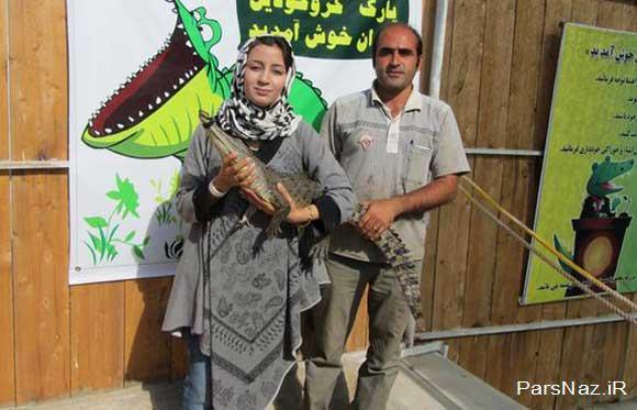 این خانم یکی از شجاع ترین زن ایران است (عکس)