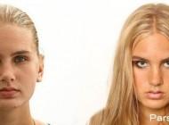 عکس هایی از سوپر مدلهای جوان با آرایش و بدون آرایش