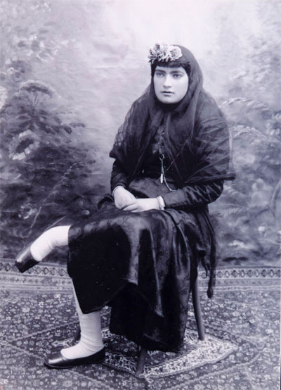 با خانم شجاع و نخستین روزنامه نگار ایران آشنا شوید (عکس)