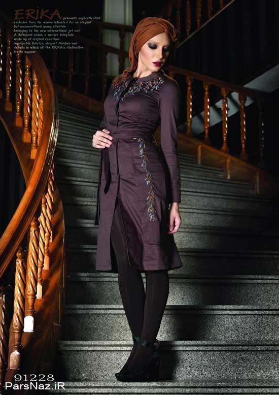 مدل هایی از شیک ترین مانتوهای ایرانی در سال جدید