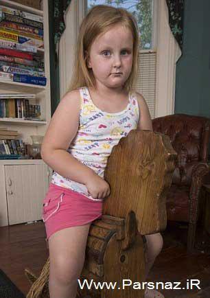 این دختر در حال تبدیل شدن به مجسمه است (عکس)
