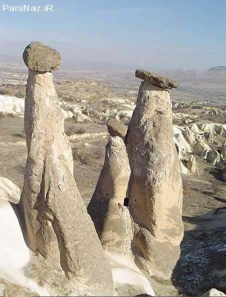دودکش جن در زنجان (عکس)