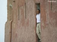 رفتن اوباما به قلعه تاریخی بردها (عکس)