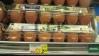 قیمت تخم مرغ و گوجه در کشور آمریکا (عکس)