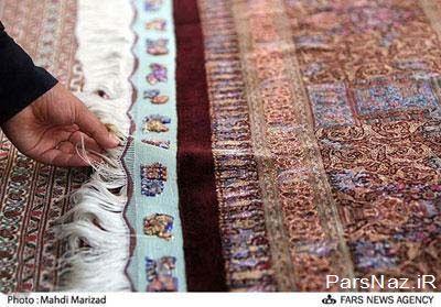 ریزبافت ترین فرش دستبافت جهان (عکس)
