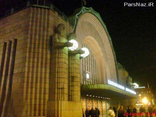 ایستگاهای قطاری که به زیبایی بی نظیر معروف هستند (عکس)
