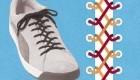 آموزش جدید  بستن بند کفش (عکس)
